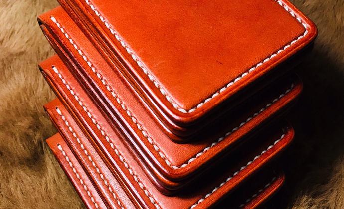 全皮手工缝制驾驶行驶证套卡套多卡位卡包