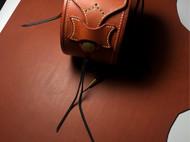 复古皮革圆盒