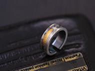 错金肌理戒指