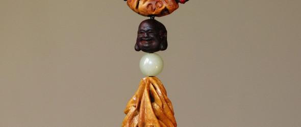 天工指作《2012》|水蜜桃核雕