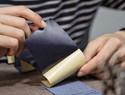 手工皮具干货教程 | 自制Diana竖款短夹,衬布卡位结构,手把手教会你们!