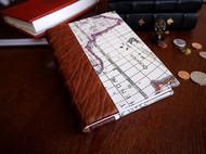 复古中世纪欧式传统皮面精装书手账