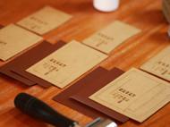 一枚手缝皮革卡包,超级详细的教程正在路上