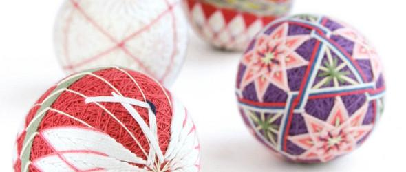 赞岐手鞠球 / 讃岐の手まり:日本手工艺人 曽川満里子 的手鞠球欣赏