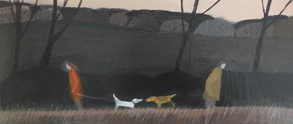 生生不息的大海,温柔宁静的内心 | 英国画家Barbara Peirson作品集