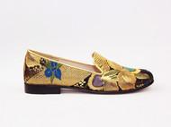 西阵织手工乐福鞋 设计师品牌 ZUMU'SHOW
