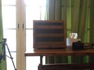 实木收纳柜 首饰柜 迷你柜 日式咖啡厅风格cafe风复古风 包邮