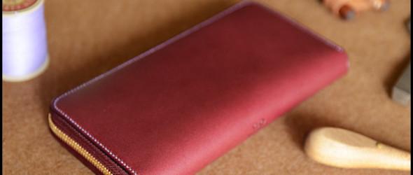 【叩门砖】—— 日本手包(长钱夹)完整制作过程