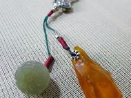 【淡】 橄榄核竹节长链