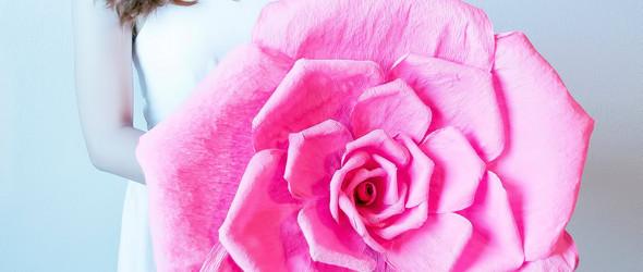 Jas Le:美丽的纸艺捧花