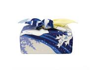 OOIN 冲浪里·森 风吕敷 绉布 70cm/和风方巾日式包袱皮礼物包装