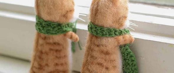 mini的羊毛毡玩偶 | @lizasiama