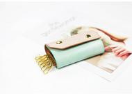 纯手工原创设计植鞣革擦蜡头层牛皮钥匙包简约多功能通用汽车钥匙包