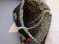 手拿包 零钱包 化妆包 厚青海波扇形菱形格子 旅行包