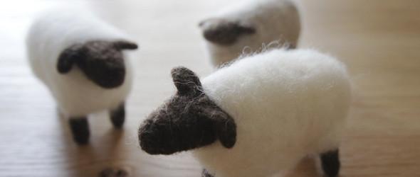 日本著名手工艺人/作家 山崎左織(Saori Yamazaki)的羊毛毡和编织作品