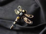 【LXB私人设计】手作蜻蜓胸针