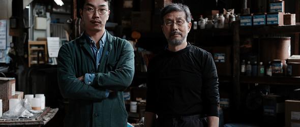 田岡亮祐 x 古庄紀治 | 一场天然皮革与天然靛蓝染色的试验
