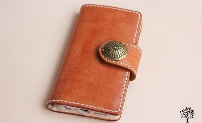 原创复古茶色IPhone 6/6s 手机皮套