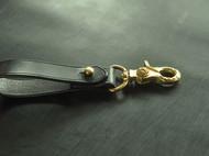 牛皮钥匙扣 手工制作汽车钥匙扣 马缰革扣件 EDC黄铜扣