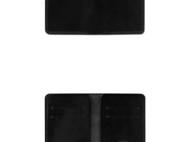 【杉本造作】黑色枥木 极简主义短夹