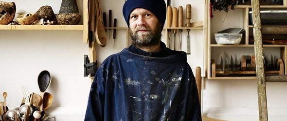 带着实验性的木工创作,英国木匠大叔 Nic Webb 的工作室和作品