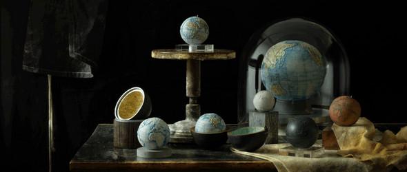 陶瓷地球仪创造者 | Loraine Rutt