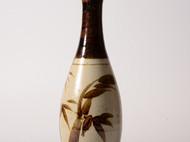 和风花瓶 清新 朴素 淡雅 陶瓷 花器 竹子 插花 花道 日本直邮 包邮