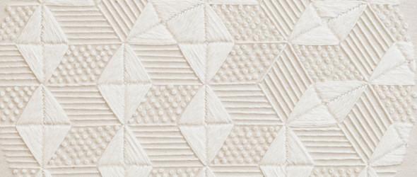 绣出来的纺织艺术画作 | 美国纺织艺术家 Alice Wiese 独特的刺绣作品
