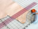 皮革基础教程之一:如何裁皮(皮革裁皮教程)