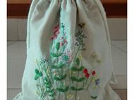 刺绣布艺束口袋