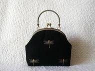 刺绣蜻蜓包(机绣)