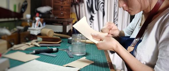 一个皮革新手的爱与坚持 - 独立皮革设计师半拍-Luna访谈