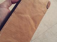 可洗水牛皮纸简易手包