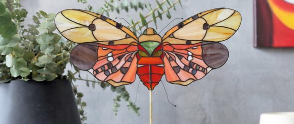 俄罗斯艺术家 Elena Zaycman 的彩色玻璃世界