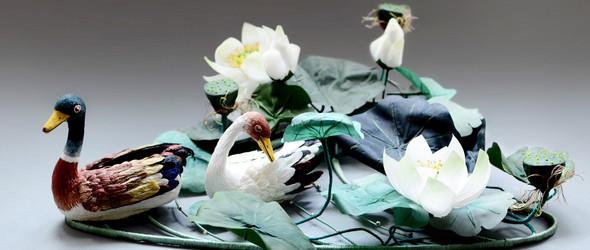 创作记   鸟中贵族 - 软雕塑创作之《珍禽》