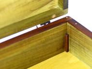 WOODIN木北欧复古榫卯高档特色原创意手工礼品首饰印章展示盒拱门
