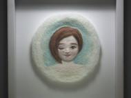 我做的羊毛毡雕塑作品之《小悲伤》