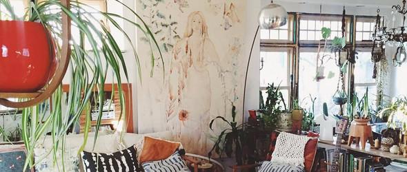 美国艺术家Emily katz 生活和工作合二为一的家