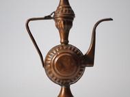 日本复古杂货 铜制水壶 阿拉丁神灯形状 创意个性 多种用途 包邮