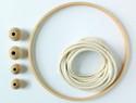 编织北欧风格的棉绳隔热垫diy教程