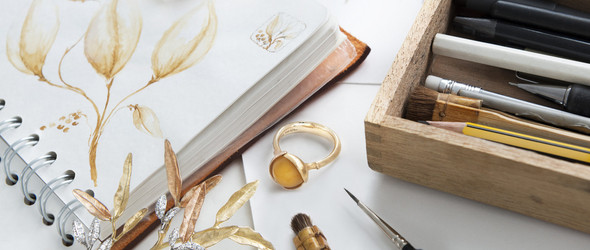 Love Gold | 丹麦设计师 Charlotte Lynggaard 让黄金变得优雅与惊艳
