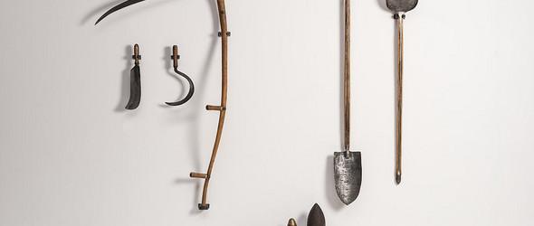 回收金属制作的大马士革花纹手工刀具  | Leszek Sikon