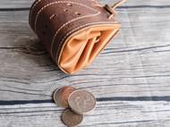 原创植鞣革零钱包