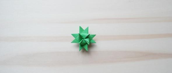 折纸教程 - 3D多面体星星折法(详细图解哦)
