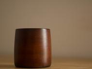 漆器水杯 大漆茶杯 竹胎 擦漆工艺