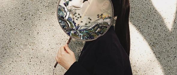 清雅唯美的中国风刺绣团扇 - 中国刺绣艺术家石佳冉作品选