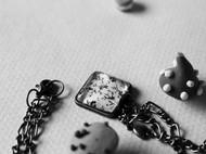时光宝石方形链