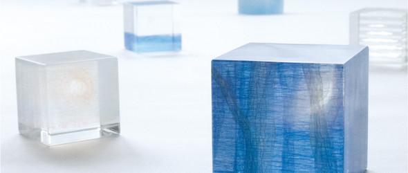 玻璃分层法创造的宁静世界 | 松村淳(Matsunura Jun)