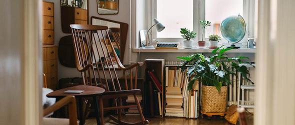 瑞典摄影师 Hilda Grahnat 的复古公寓