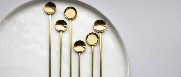 极简主义黄铜餐具 | Kitchen Ceremony